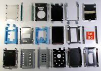 Laptop Hard Drive Caddy Lot of 18 Mixed Brands & Models
