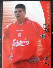 Futera Liverpool FX Steven Gerrard - 2001 RARE CARD Rookie New Era