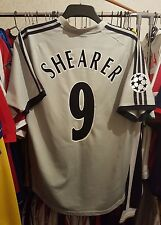 Newcastle Football Shirt 2002/03 Away Large ~ Shearer 9 Champions League
