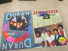 Duran Duran - Photo Story  Book Japan  & Arena 1984 Music Book