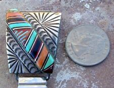 """PHENOMENAL OLDER WATCH TABS BY """" CHARLIE BOWIE """" STONES AND CHISEL WORK!"""