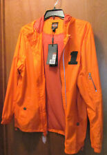 Harley-Davidson Men's Packable Hooded Nylon Jacket, Orange