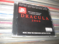 DRACULA 2000 SOUNDTRACK CD PANTERA SLAYER HYPE STICKER USA WES CRAVEN SEALED NEW