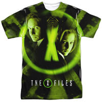 Authentic X-Files TV show Trust No One Sublimation Allover Front T-shirt top