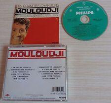 CD ALBUM BEST OF LES GRANDES CHANSONS MOULOUDJI  12 TITRES 1998