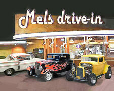 Put YOUR  Auto at Mels Drive-In PRINT