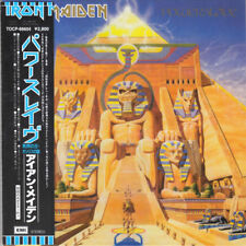 IRON MAIDEN POWERSLAVE CD MINI LP OBI + JAPANESE BOOKLETS