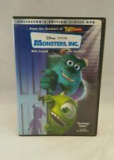 Disney Pixar Monsters, Inc 2-Disc Set DVD Collectors Edition