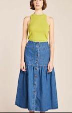 KLOKE denim skirt Size L (14)