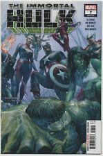 Immortal Hulk 7 Battles the Avengers High Grade