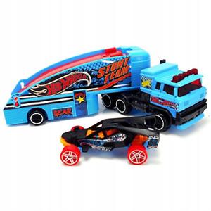 Hot Wheels Super Rigs Stuntin Semi Truck Storage Lorry New Kids Vehicle Toy