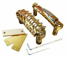 Babicz Full Contact Hardware Tune-o-Matic Bridge and Tailpiece Gold FCHTOMGD