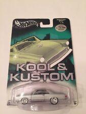 Hot Wheels Kool & Kustoms Silver Pontiac GTO 1:64 Scale,MISP (B37)