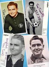 Toni TUREK - WM 1954 - 4 AK - Bilder - Print - Copies + 2 AK Fotos WM 54 gratis