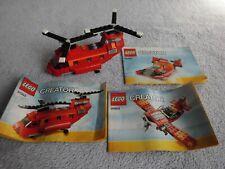LEGO Creator 3 in 1 - 31003 - Roter Helikopter , mit Bauanleitungen