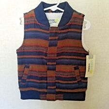 Genuine Kids from OshKosh Vest Boys Size 2T Striped...