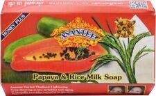 Dhl : 6 x 125 g Asantee Papaya Honey Whitening Soap Thai Herbal Skin Relief Acne