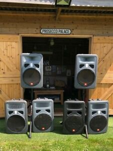 JBL Eon active 2x15inch tops + 4x15 inch subs OFFER INVITED - THEY MUST GO