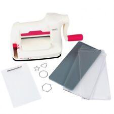 Stanzmaschine Prägemaschine Mini STARTER KIT mit Stanzplatten und Prägeplatte