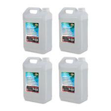 4x ADJ Fog juice 3 5 L Heavy dense Fumée Liquide Pour Brouillard Machine Fumée