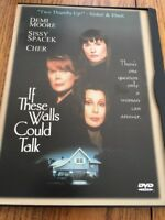 If These Walls Could Talk (DVD, 2000) Leading Role: Demi Moore