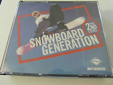 Various Artists - Snowboard Generation 2nd Level ( 2 x CD Album ) Used Very Good