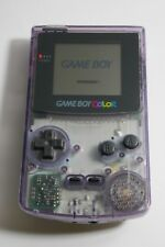 Nintendo Game Boy Color Atomic Purple Handheld System Model CGB-001