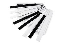Klettverschluss 20mm Klettband Mix s/w selbstklebend Hakenband Flauschband