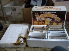 NIB MARCATO MULTIPAST SET MACHINE MAKES 5 KINDS OF PASTA + DOUGH ACCESSORIES