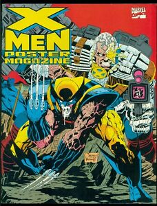 X-MEN POSTER MAGAZINE VOL. 1 #1, MARVEL COMICS, 1992, 9.0 VF/NM!