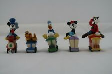 Hallmark Disney Mickey Express Merry Miniatures Full 5 Piece Train Set - 1998