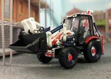 Jcb 3cx Bagger Union Jack 1:76 Oo / 00 Oxford Hornby Bachmann Scenecraft Modell