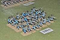 25mm napoleonic / bavarian - 32 infantry painted metal - inf (4340)