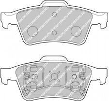 FERODO RACING DS2500 PASTIGLIE FRENO POSTERIORE FORD FOCUS 2.5 ST225 FCP1540H vedere profilo