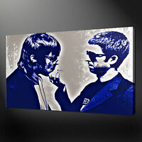 NOEL AND LIAM GALLAGHER OASIS POP ART PRINT ON CANVAS READY TO HANG