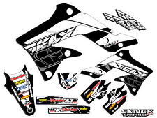 1999 2000 2001 2002 KX 125 250 GRAPHICS KIT KAWASAKI KX125 KX250 DECO DECALS FLY