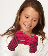 Roxy Smiley Face Gloves Pink