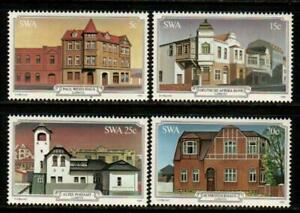 SWA - SOUTH WEST AFRICA 1981 - Historical Buildings of Luderitz SG 381-384 MNH