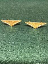 Vintage Jensen Speaker Badges Original Stereo Director Logos Pair Very RARE !