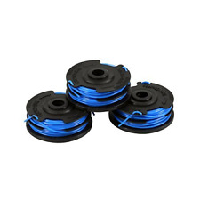Kobalt Trimmer Spool Replacement Home Lite Electric String Line 3 Pack 20 Ft