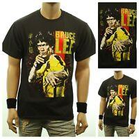 Funny Graphic T-Shirt BRUCE LEE Kung fu Martial Arts Printed Fashion Urban Tee