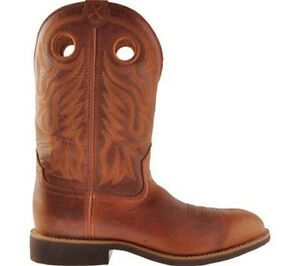 Twisted x men´s  calf Roper Pull on  U Toe   41