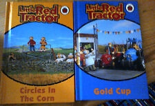2 Little Red Tractor Ladybird Books Circles In The Corn, Gold Cup