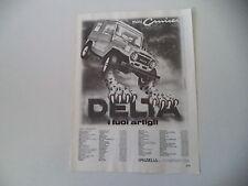 advertising Pubblicità 1982 DELTA MINI CRUISER