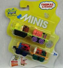 THOMAS & FRIENDS Minis Train Engine 2016  SPONGEBOB Sealed 4 Pack ~ Weighted
