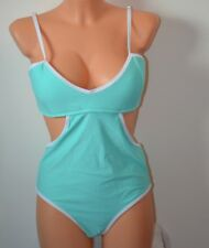 ea1a46377ddb22 South Beach at ASOS Cami Bralette Swimsuit Turquoise UK 12 EU 40 (GK15 19