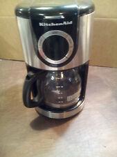 KITCHENAID 12-CUP AUTOMATIC COFFEE MAKER MODEL# KCM12020B