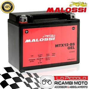 Batería MALOSSI MTX12-BS Gel = YTX12-BS Suzuki Vz Marauder 800 1997-2003