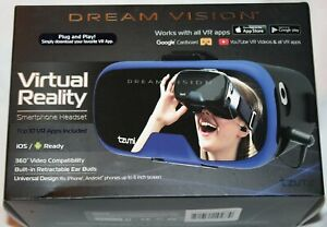 Tzumi Dream Vision Virtual Reality VR Smartphone Headset  - Blue