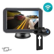 Wireless Car Rear View Monitor Waterproof IP69K License Plate Backup Camera Kit